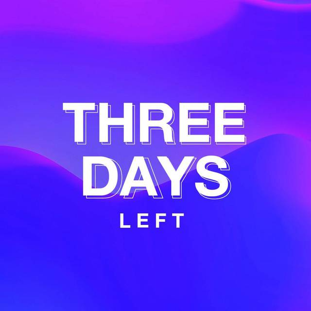 Three Day Countdown